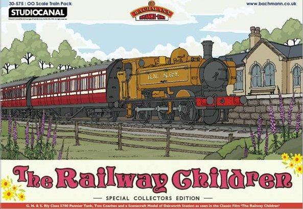 30-575 Bachmann Railway Children Train Pack Image