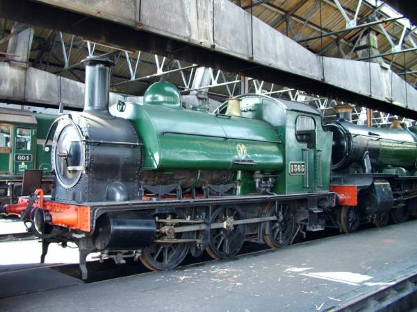 K2203 DJ Models Class 1361 GWR Tank Image