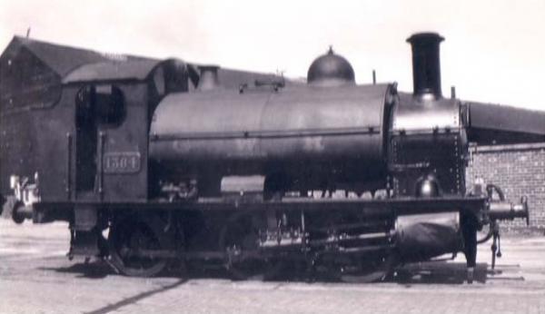 K2204 DJ Models Class 1361 GWR Tank Image
