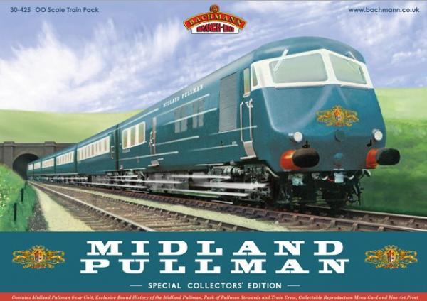 30-425 Bachmann Midland Pullman Train Pack Image