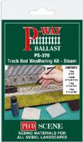 PS-370 Peco Track Bed Weathering Kit - Steam
