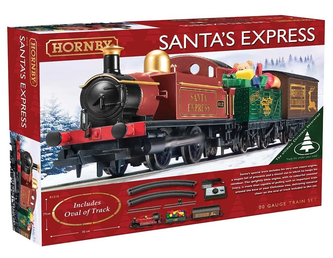 R1210 Hornby Santas Express Train Set Image