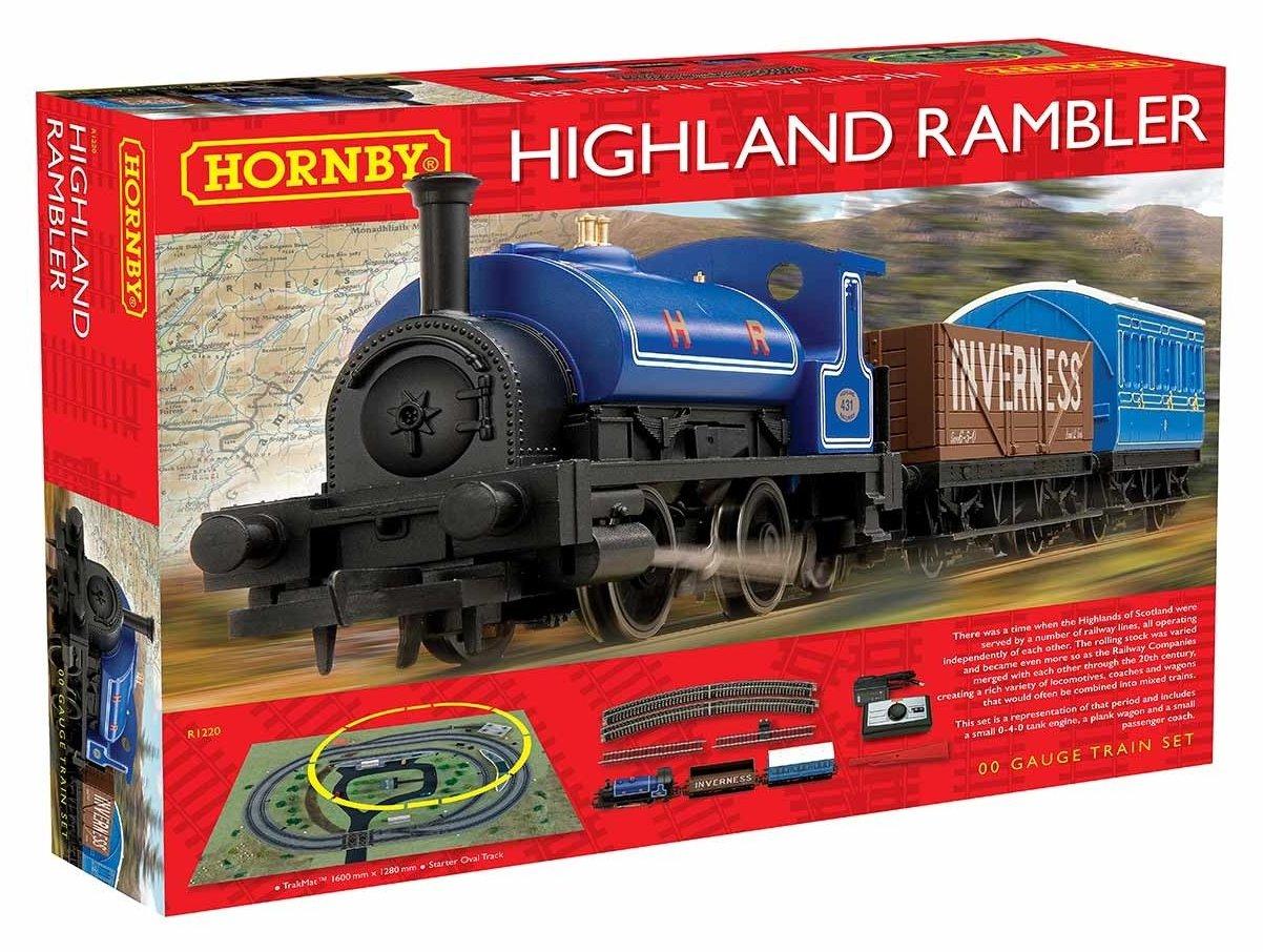 R1220 Hornby The Highland Rambler Train Set Image