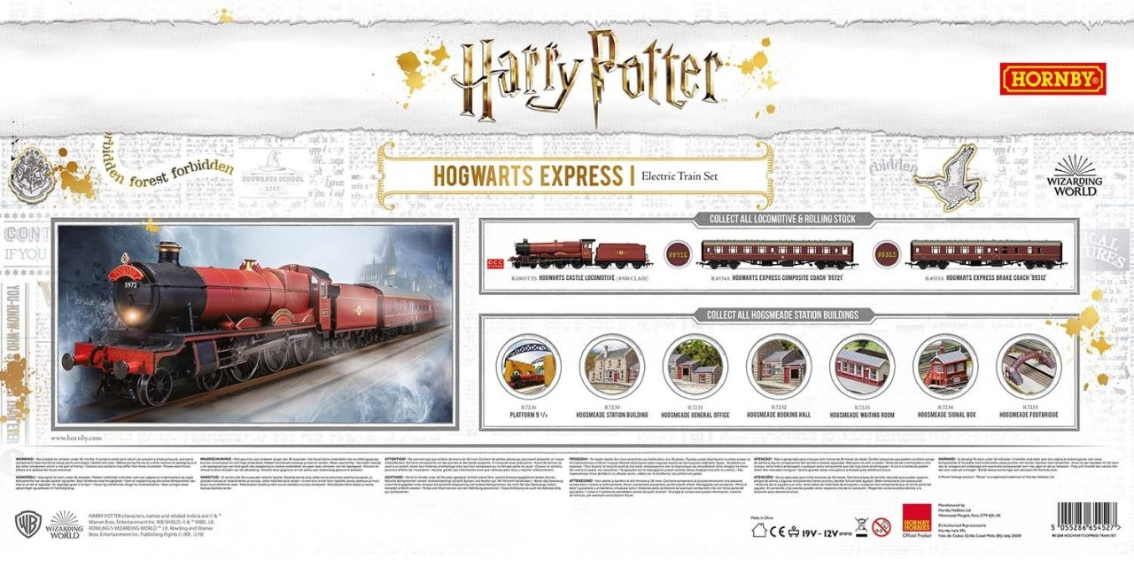 R1234 Hornby Hogwarts Express Train Set