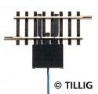 83159 Tillig TT Switching track trigger 41mm with cable connector
