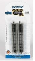 44811 Bachmann Nickel Silver 5in. Straight Track (6/Card).
