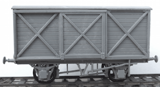 C115 Cambrian LSWR Van Kit Image