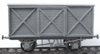 C115 Cambrian kit - LSWR 10 Ton Van Kit Diagram SR D1410