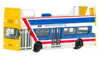 40101 Exclusive First Editions Daimler DMS Double Decker Bus in Network SouthEast livery