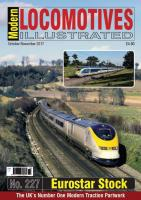 Magazine - Modern Locomotives Illustrated 227 - Eurostar Stock