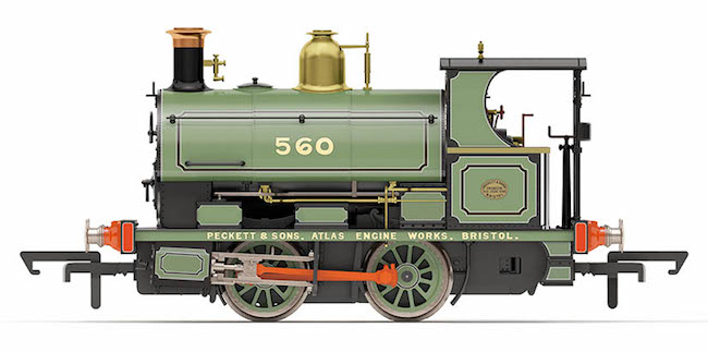 R3615 Hornby Peckett Steam Loco Image